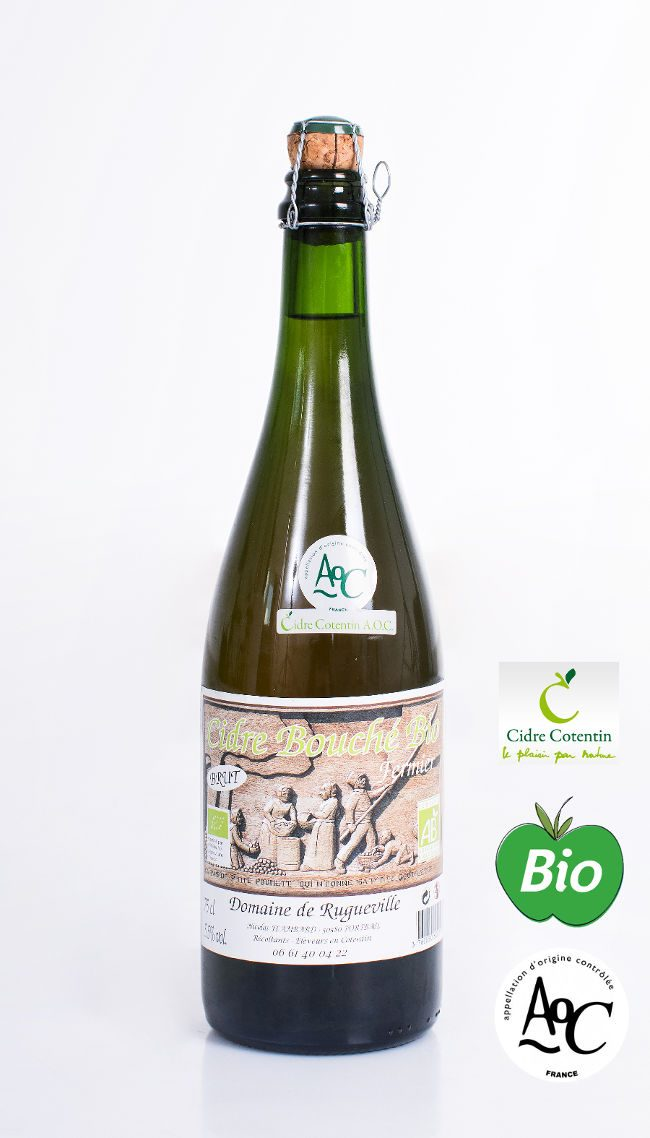 Cidre cotentin appellation origine controlée